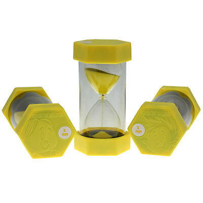 Tink n Stink Large Sand Egg Hourglass Timer 3 Minute SEN ADHD ASD