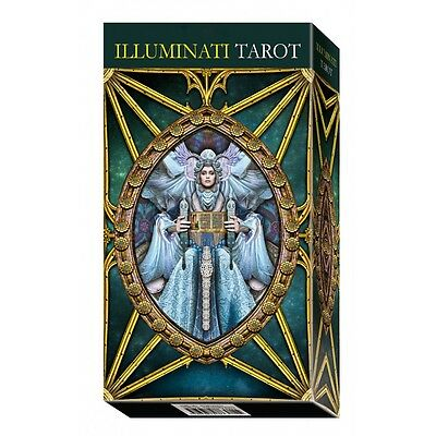 NEW Tarot Illuminati Kit Cards Deck Kim Huggens Erik C. Dunne