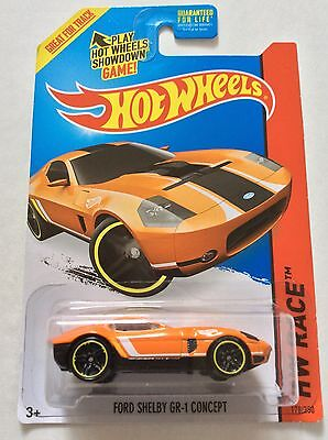 Hot Wheels Ford Shelby GR-1 Concept. 2015 B Case.