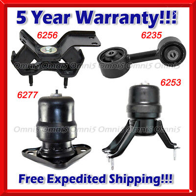Engine Motor /& Trans Mount For 1992-1996 Toyota Camry 2.2L 6253 6235 6256 3PCS