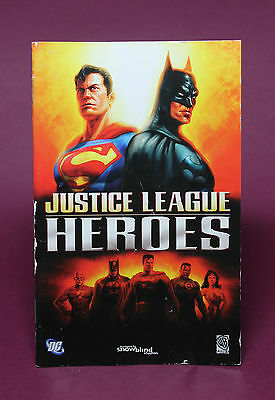 Instruction Booklet/Manual Only For Justice League Heroes Ps2 (No Game) ❄️