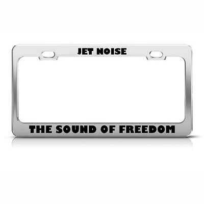 #3344W License Plate Frame-FREEDOM//MUST BE DEFENDED-Polished ABS