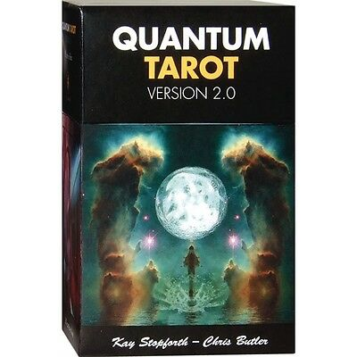 NEW Quantum Tarot Kit Deck Cards Lo Scarabeo