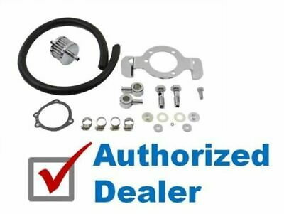 Crankcase Breather Air Cleaner Support Bracket Kit 91-2017 Harley Sportster XL