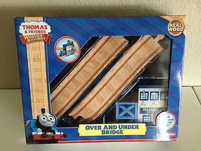 Thomas & Friends Wooden Over & Under Bridge-New in box-  FREE PRIORITY Shipping