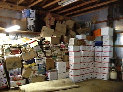 Hugenormous! 1,000 Hard & Soft Book Lot~Various Categories Great For Re-Sale!