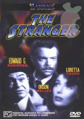 The Stranger Orson Welles Edward G Robinson new sealed region 4 dvd stock Perth