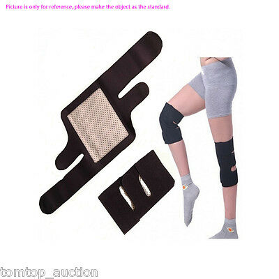 1Pair Health Care Tourmaline Self-Heating Knee Pad Far Infrared Magnetic Therapy