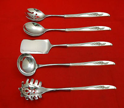 Penrose by Wallace Sterling Silver Hostess Set 5pc HHWS  Custom Made