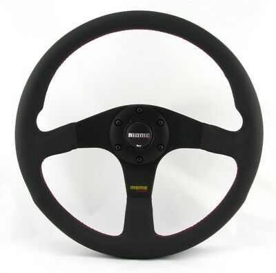 Momo Leder Sportlenkrad Tuner 35 350mm schwarz black steering wheel volante
