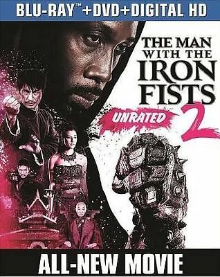 The Man with the Iron Fists 2 (Blu-ray/DVD+Digital HD, 2015, 2-Disc Set)