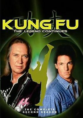Kung Fu: The Legend Continues -The Complete Second Season (DVD, 2015)