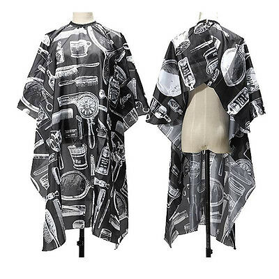 New Adult Hair Cutting Salon Barbers Hairdressing Hairdresser Cape Gown Clothes