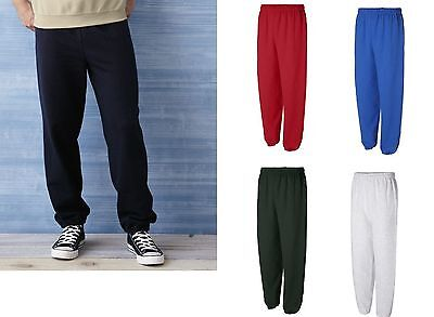 Gildan Sports Pants Heavy Blend Sweatpants S M L XL 2XL New - 18200