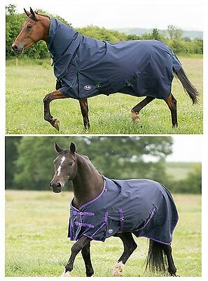 Lightweight no Fill Turnout Rug CHOOSE COMBO OR STANDARD NECK ALL SIZES ON SALE
