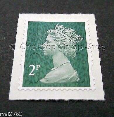 2015 2p M15L Code Machin SINGLE MINT STAMP from Counter Sheet
