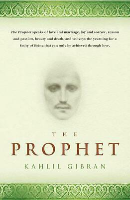 The Prophet by Kahlil Gibran Paperback Book Free Shipping!