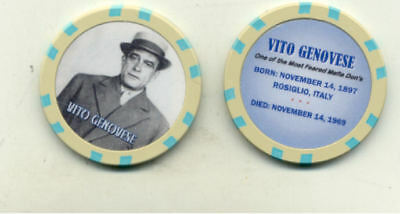 Vito Genovese  Gangster  Collector Chip