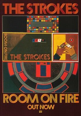 THE STROKES Room On Fire PHOTO Print POSTER Comedown Machine Is This It Shirt 02