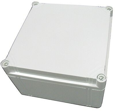 Electrical Enclosure NEMA 4X Polycarbonate 8x8x5 Waterproof Made in Europe