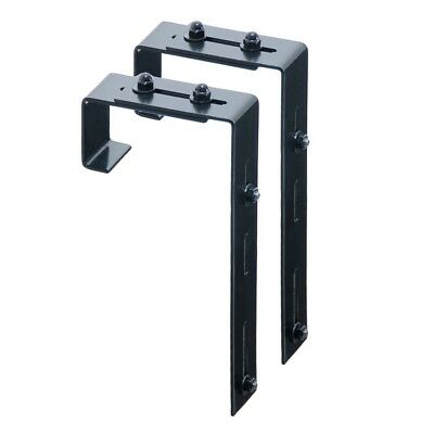 Mayne Adjustable Deck Rail Bracket 2-pack - 3832