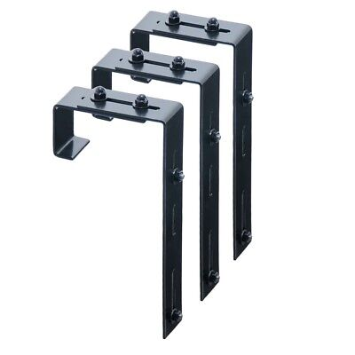 Mayne Adjustable Deck Rail Bracket 3-pack - 3833