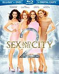 Sex and the City 2 Movie Blu-ray Combo Pack (Blu-ray/DVD/Digital) W/Slipcover