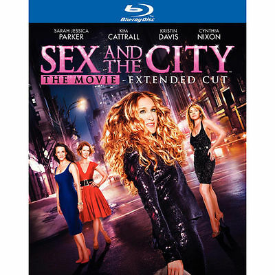 Sex and the City - The Movie (Blu-ray Disc, 2008, 2-Disc Set) W/Slipcover