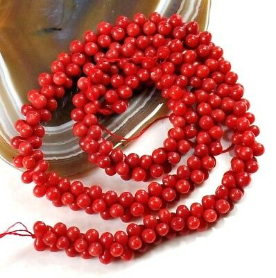 """Red Natural Sea Coral Peanut 9x4mm Beads 15"""" (CO189)a for DIY Jewelry"""