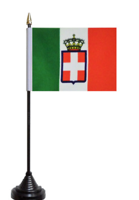 Italy 1861 to 1946 Table Flag