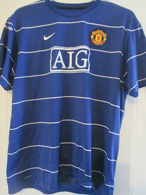 Manchester United official 2008 Training Football Shirt Size xl /35575