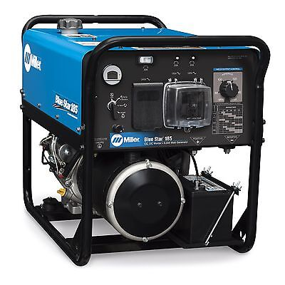 Miller Blue Star 185 DX Welder/Generator with GFCI Receptacles (907664)