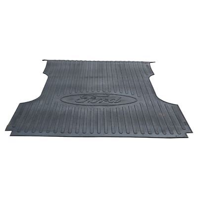OEM Truck Bed Mat Protector Liner 6-3/4 Foot Black Rubber for Ford Super Duty