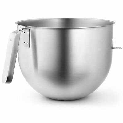 New KitchenAid Commercial 8 Qt. Bowl for Stand Mixers KSMC8QBOWL Stainless Steel