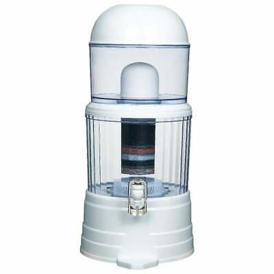 16L Benchtop 8 Stage Water Filter Ceramic Carbon Mineral Purifier