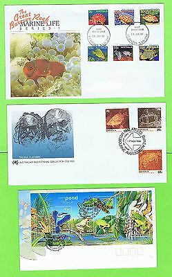 Australia Collection of twelve illustrated First Day Covers