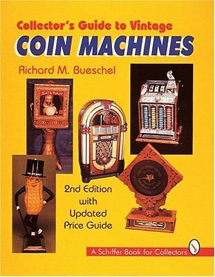 ANTIQUE VENDING MACHINE Price Guide Collectors BOOK Gumball Slot Machines Scales