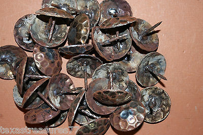 """(20), LARGE, 1-1/2"""" CLAVOS,HAMMERED NAILS,FURNITURE,ANTIQUE REPLICA,WESTERN DECO"""