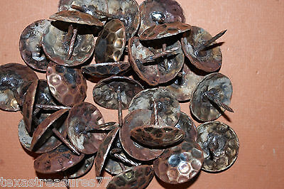 """(40), LARGE, 1-1/2"""" CLAVOS,HAMMERED NAILS,FURNITURE,ANTIQUE REPLICA,WESTERN DECO"""