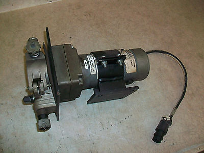 MIG Welder Power Wire Feed w/ Statuce Electric Motor 115vdc