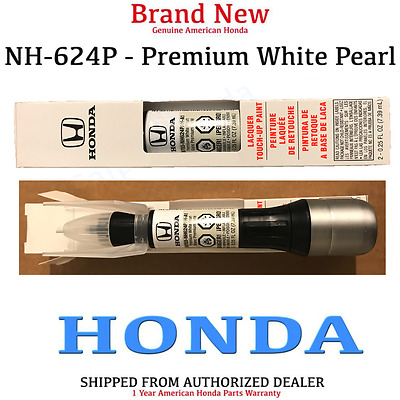 Genuine OEM Honda Touch Up Paint Pen - Premium White Pearl (08703-NH624PAH-A1)
