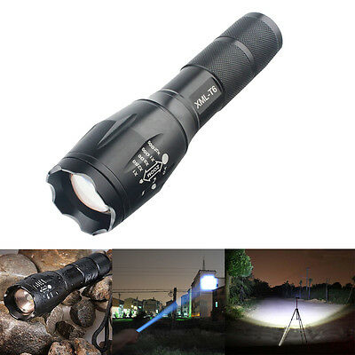 New Ultrafire 2200LM CREE XM-L T6 LED 18650/AAA Flashlight Zoomable Torch Light