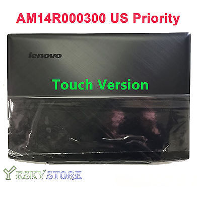 New/Orig Lenovo Y50-70 15.6 inch Top Lcd Rear Back Cover for Touch AM14R000300