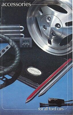 1981 Ford Auto Accessories Brochure Mustang/LTD/T-Bird