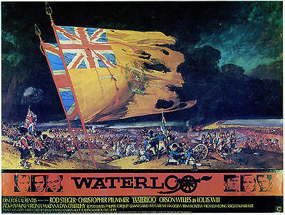 """""""WATERLOO"""" Rod Steiger Orson Welles Classic Movie Poster Various Sizes"""