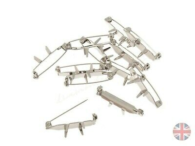 12 Metal  Corsage Clips for Wedding Buttonhole Flowers Corsage Pins SB541