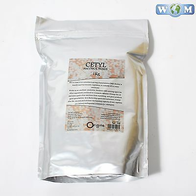 Cetyl Alcohol Wax Beads 1kg (WAX1KCETY)