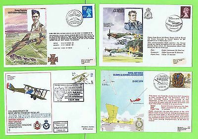 Collection of eight RAF Flight Covers including A.C. Deere