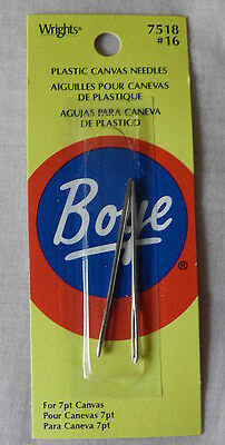 Plastic Canvas Needles - Size #16 for 7pt canvas - 2 needles