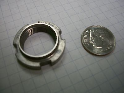 Round self locking nut used in the B-1 bomber